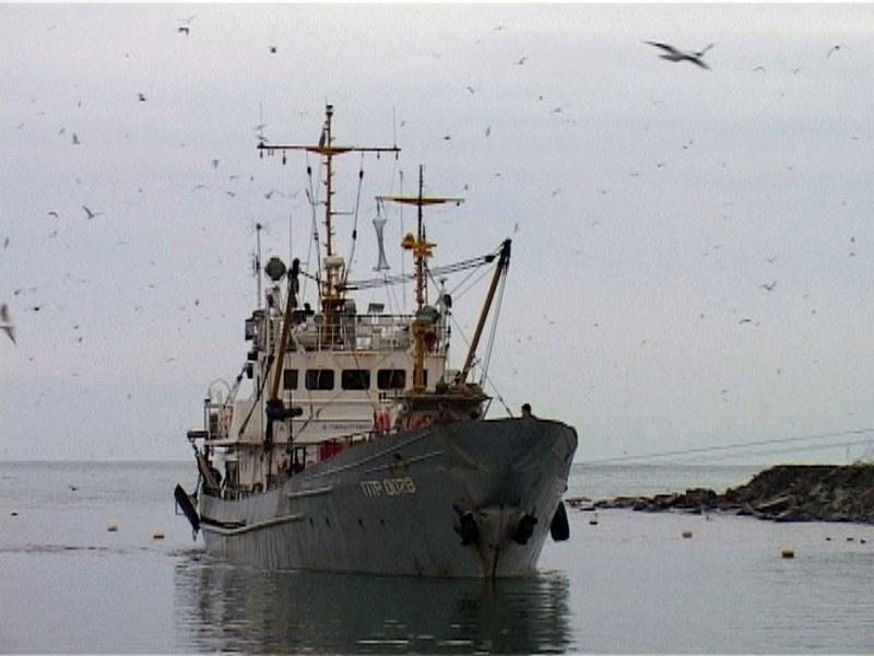 Аварийно-спасательные работы на судне «ПТР-0028»