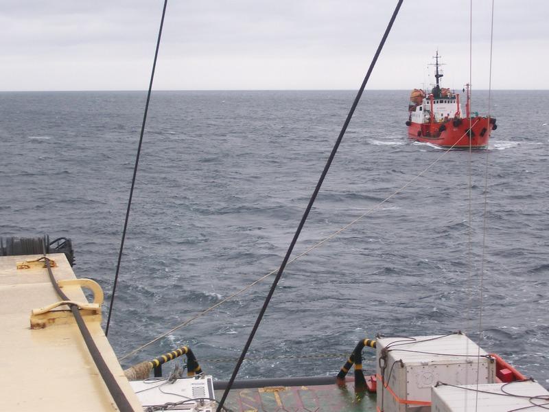 Аварийно-спасательная операция на нефтетанкере «Вега»