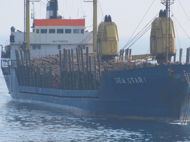 Аварийно-спасательная операция на т/х «Sea Star1»