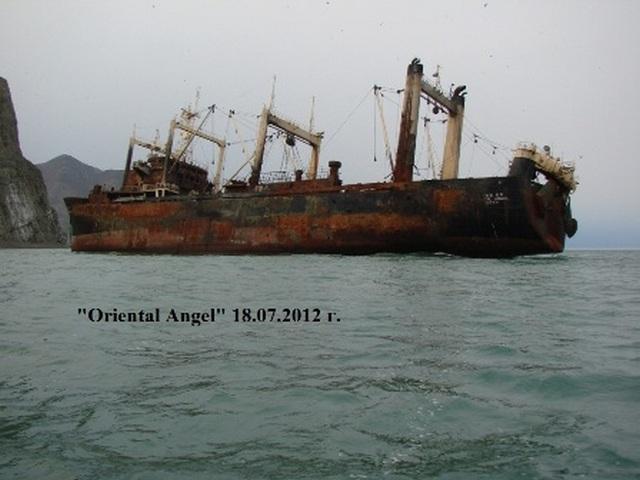 Окончание операции по ликвидации экологической угрозы  в Беринговом море после крушения южнокорейского траулера «Oriental Angel»  у берегов Чукотки.
