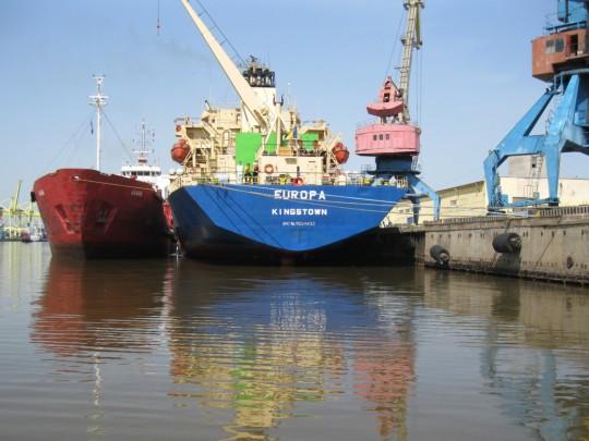 Ликвидация загрязнения на акватории морского порта «Большой порт Санкт-Петербург»