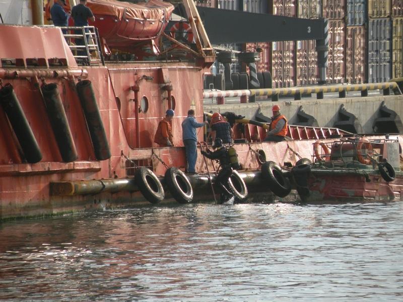Учение по ликвидации последствий аварийных и чрезвычайных ситуаций в морском порту Сочи