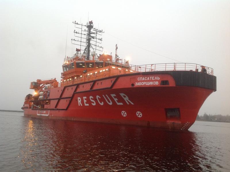 Невский ССЗ сдал третье многофункциональное аварийно-спасательное судно ледовой категории Arc 5 мощностью 4 МВт проекта MPSV07 «Спасатель Заборщиков» ледовой категории Arc 5  мощностью 4 МВт проекта MPSV07 «Спасатель Заборщиков»
