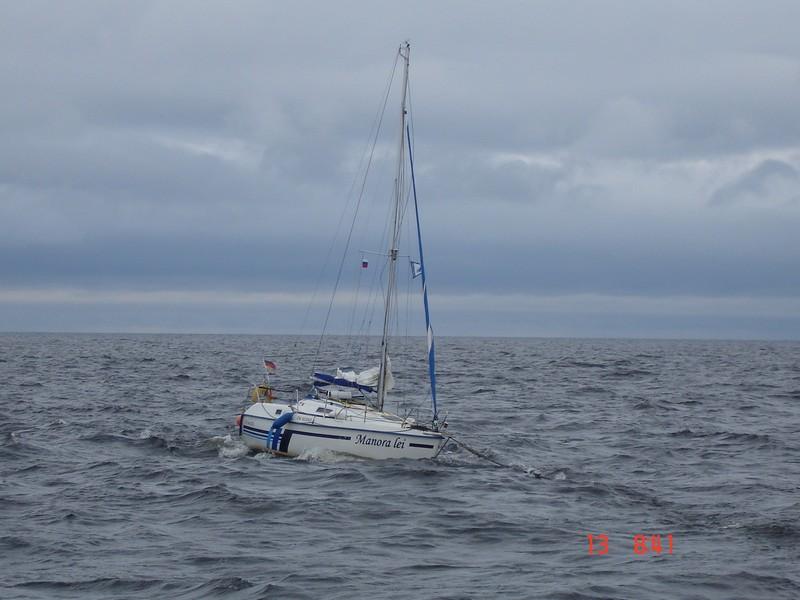 Аварийно-спасательная операция на яхте «MANORA LEI»