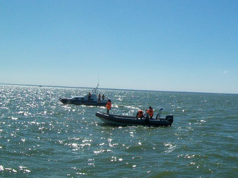 Пресс-релиз  о проведении Бассейнового учения по поиску и спасанию людей,  терпящих бедствие на море