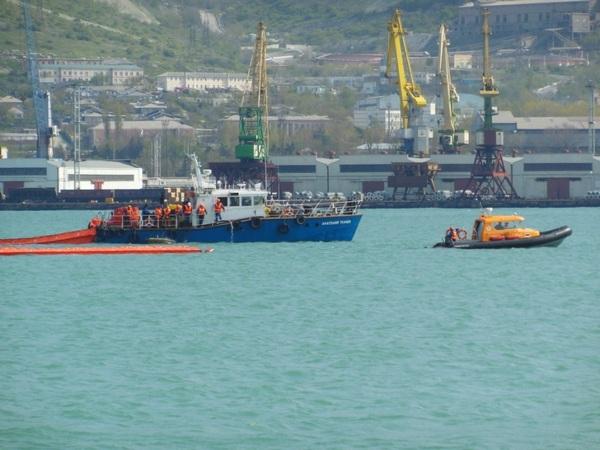 Учение на акватории морского порта Новороссийск