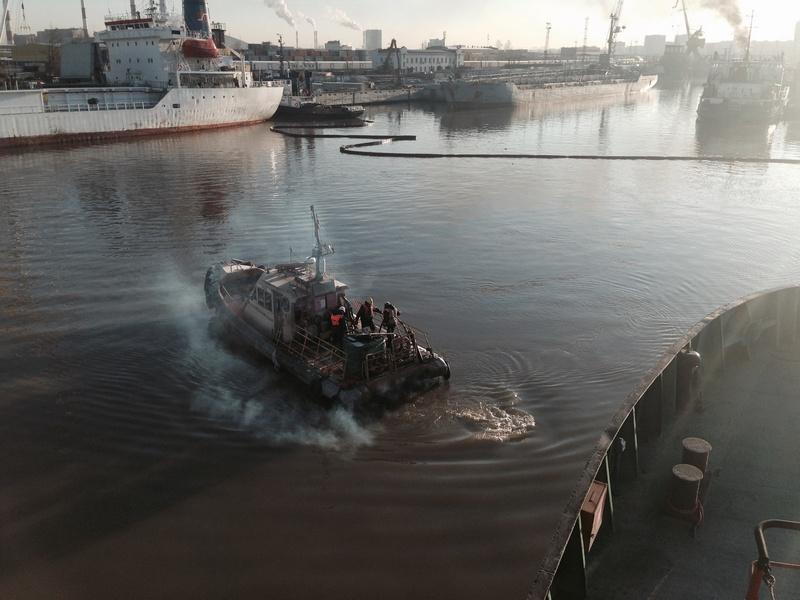 Комплексное учение в морском порту «Большой порт «Санкт- Петербург»