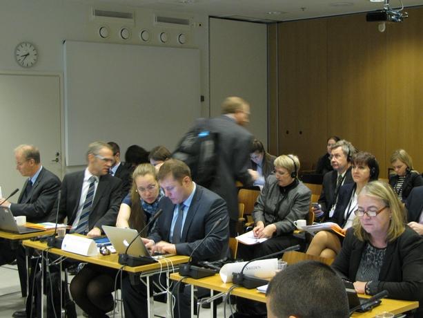 Пятое заседание Целевой группы Арктического совета