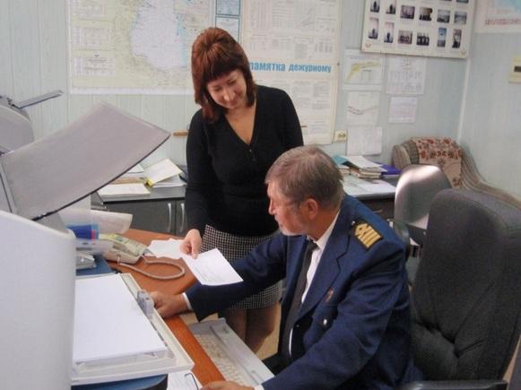 Учение по связи с органами управления и силами при поиске и спасании людей, терпящих бедствие на Каспийском море