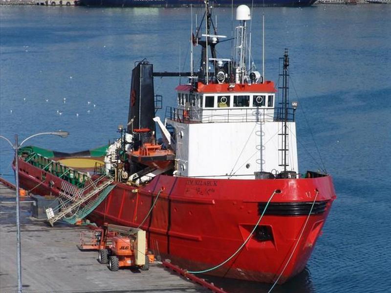 Поиск дрейфующей в Чукотском море канадской самоходной баржи «NATL II»