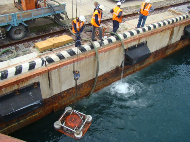 Проведено совместное учение на акватории морского порта «Зарубино»