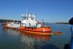Совместное учение на акватории морского порта Ростов-на-Дону