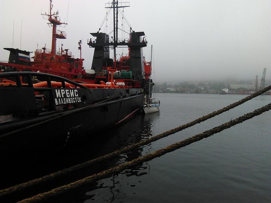 Аварийно-спасательная операция на яхте «Федор Ушаков»