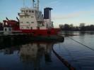 Учение на акватории морского порта Калининград.