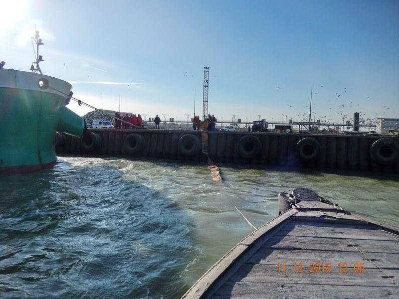 Проведено комплексное учение на акватории морского порта Ейск