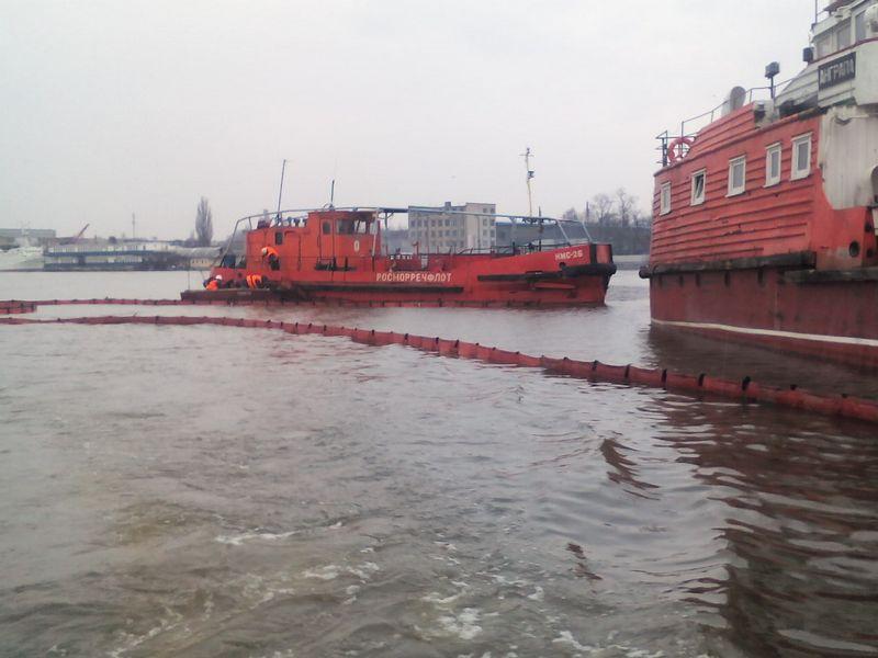 На акватории морского порта Калининград проведено совместное комплексное учение