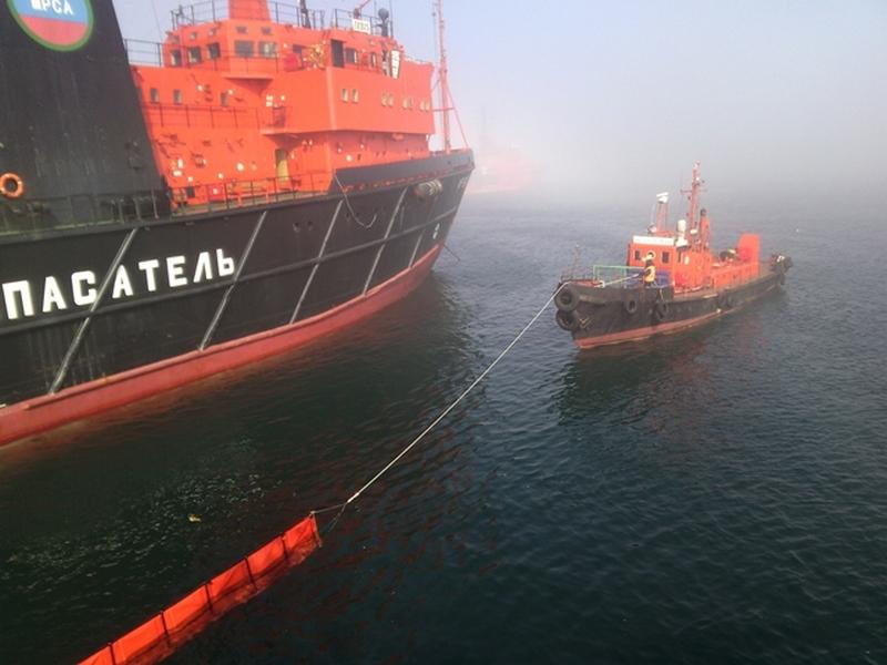На акватории морского порта Владивосток проведено совместное комплексное учение