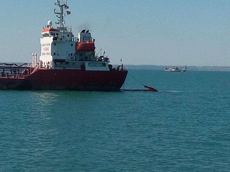 Проведено комплексное учение на акватории морского порта Кавказ