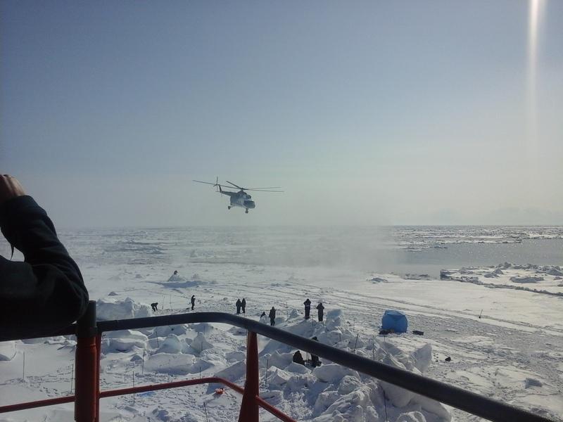 Обеспечение научно-исследовательских работ на акватории Южно-Киринского месторождения в Охотском море.