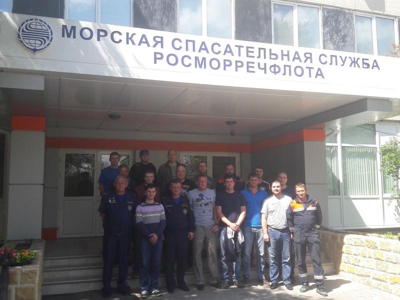 Подготовка сотрудников ГКУ «Мособлпожспас»