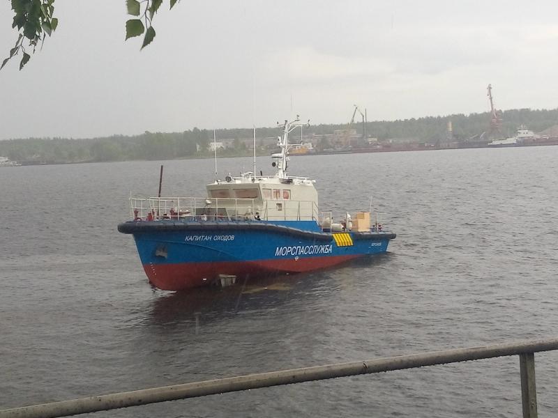 В Ярославле спущен на воду катер-бонопостановщик для Морспасслужбы Росморречфлота