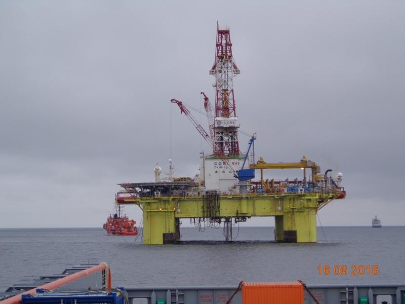 На акватории Охотского моря в районе лицензионного участка «Лисянский» проведено комплексное учение