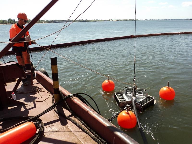 рыбалка в порте оля