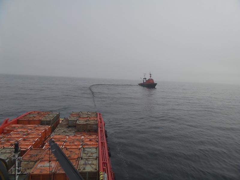 Проведено  комплексное учение на акватории Охотского моря
