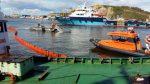 На акватории порта Корсаков проведено комплексное учение