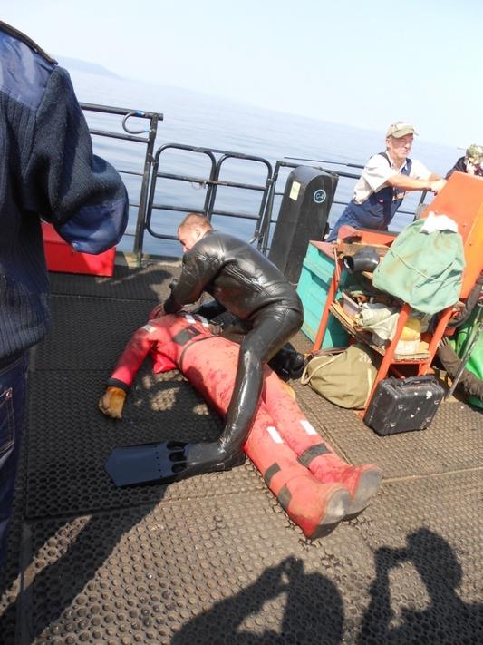 На акватории залива Петра Великого проведено Бассейновое учение