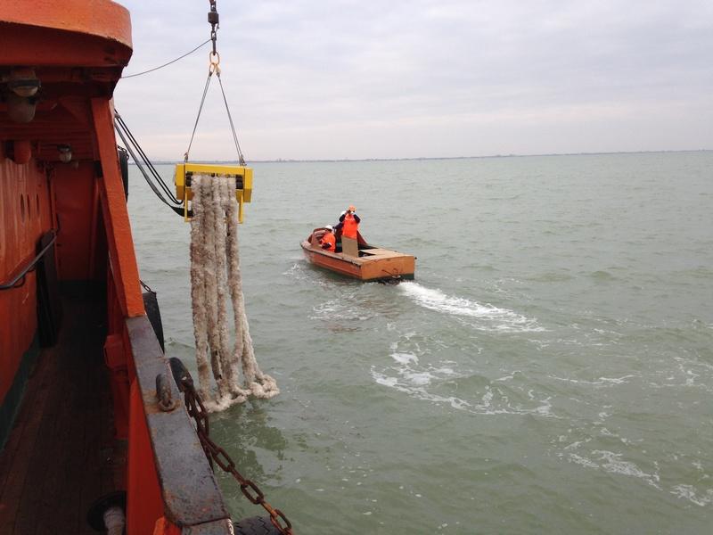 На акватории Каспийского моря проведено комплексное учение