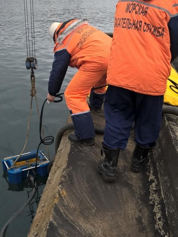 Локализации и ликвидации загрязнения на акватории морского порта Владивосток в бухте Золотой Рог