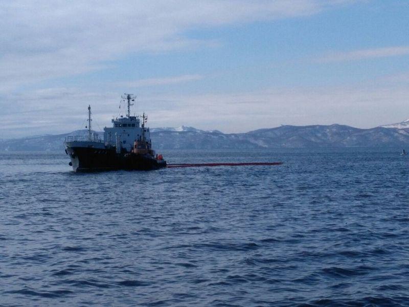 На акватории морского порта Петропавловск-Камчатский  проведено комплексное учение
