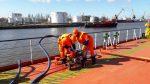 На акватории морского порта Калининград проведено комплексное учение по локализации и ликвидации разлива нефтепродуктов