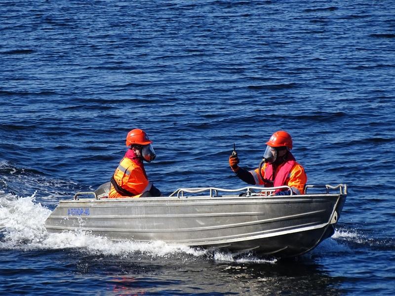 Учение на акватории морского порта Кандалакша.