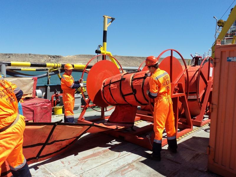 На акватории Баутинской бухты  Тюбкараганского  залива Казахстанского сектора Каспийского моря проведено комплексное учение