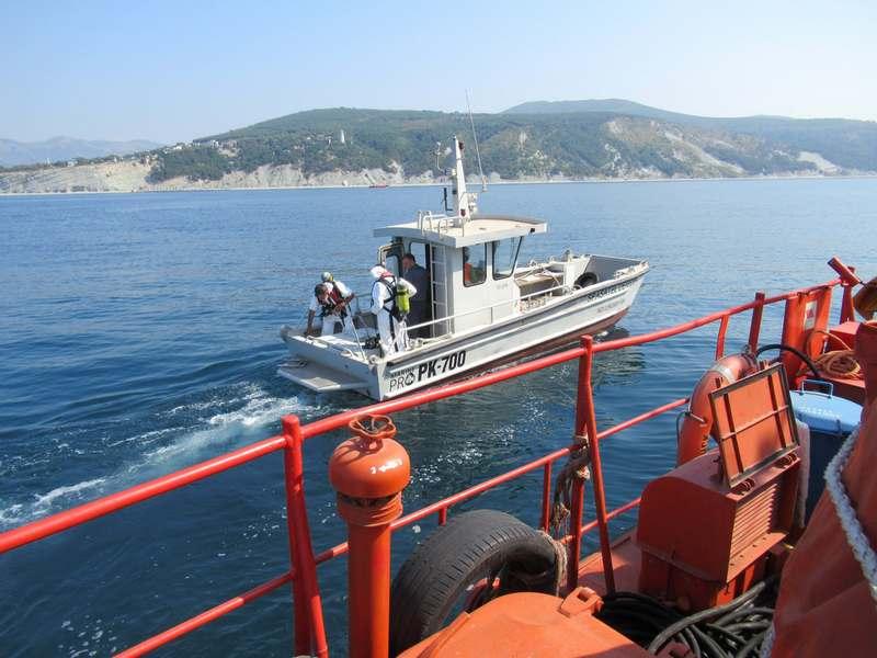 На акватории морского порта Новороссийск проведено комплексное учение