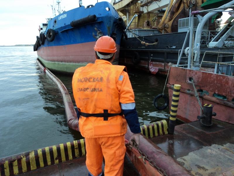 ЛРН на акватории морского порта Астрахань