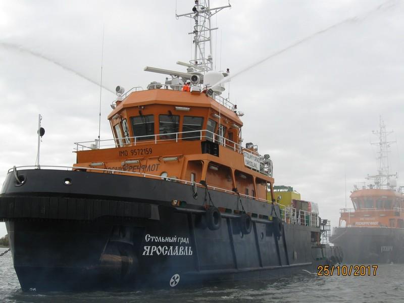 Проведено комплексное учение на  акватории морского порта Астрахань