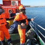 Учение в  порту Темрюк