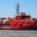 Спасательная операция в Японском море
