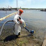 На акватории порта Астрахань проведено учение