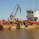 В Северной части Каспийского моря и Волго-Каспийском морском судоходном канале