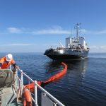 В акватории Финского залива прошло бассейновое учение