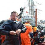 Водолазы Морспасслужбы восстановили возможность управления судном «KAIWO MARU» флаг Япония