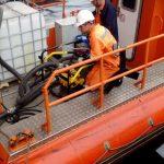 Ликвидация разлива нефтепродуктов  п. Владивосток, бухта Золотой Рог акватория порта