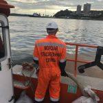Ликвидация обнаруженного загрязнения на акватории бухты Золотой Рог п. Владивосток