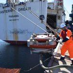 На акватории морского порта Зарубино было проведено совместное комплексное учение