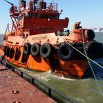 Проведение аварийно-спасательных работ по помощи судну т/х «Nila»