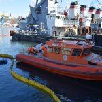 На акватории морского порта Владивосток было проведено совместное комплексное